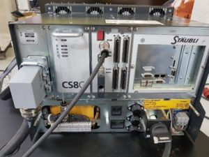 Formation Robots STÄUBLI : exploitation et maintenance électrique CS8/CS8C